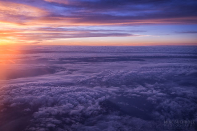 30,000 Foot Sunsets