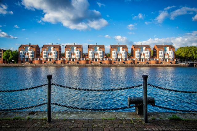Symmetry; Greenland Docks, London, England