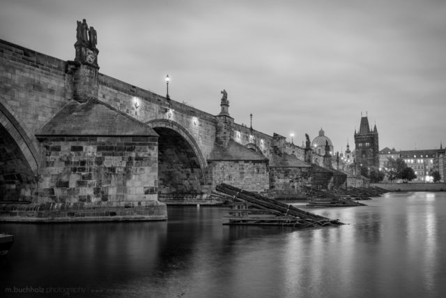 Under the Charles Bridge; Prague, Czech Republic