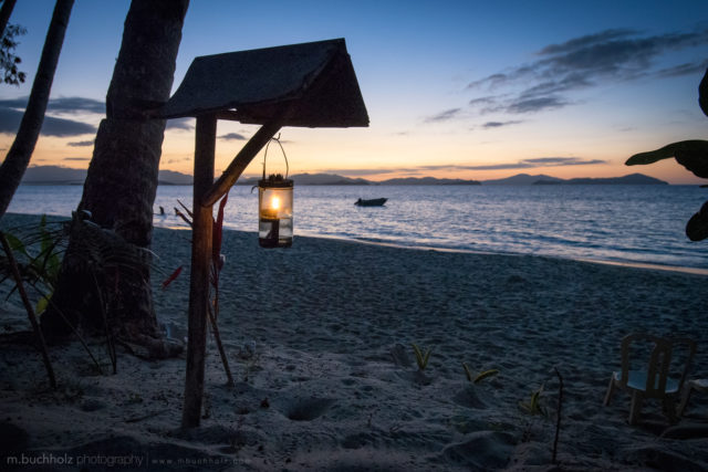Island Candle Light; Palawan, Philippines