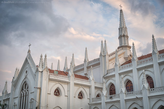 St. Thomas Cathedral Basilica Rooftop; Chennai, India