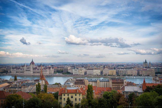 City Skyline; Budapest, Hungary