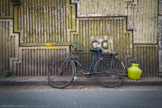 Abandoned Bicycle; Chennai, India
