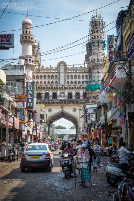 The Markets Near Charminar; Hyderabad, India