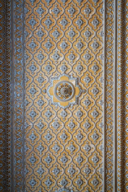 Details in Chowmahalla Palace; Hyderabad, India