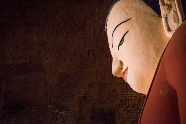 Buddha Inside Thakyapone Temple; Bagan, Myanmar