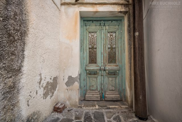 Antique Door; Naxos, Greece
