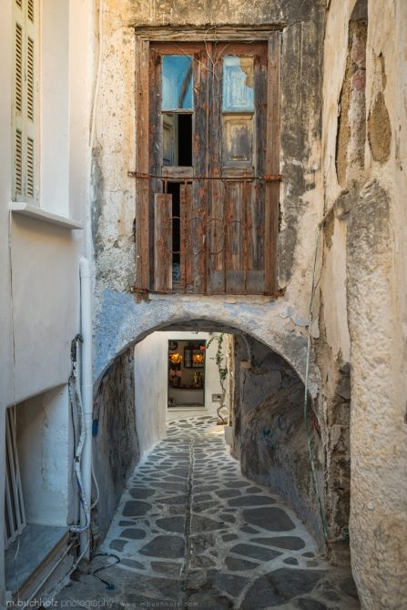 Old Town Alleyways; Naxos, Greece