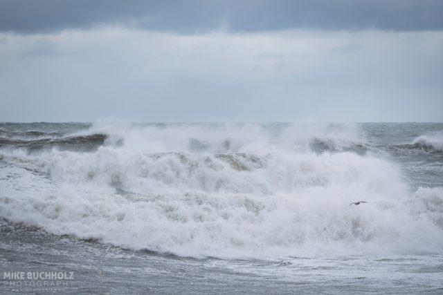 Crashing Waves; Rye Beach, NH