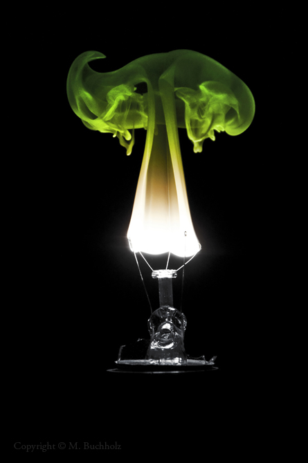 Incandescent Bulb Filament Igniting