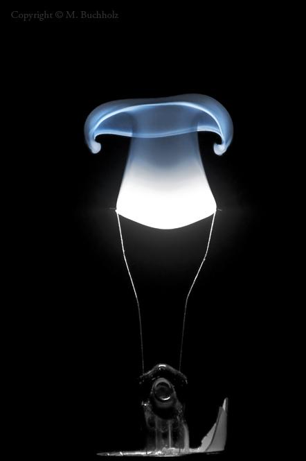 Incandescent Bulb Filament Igniting