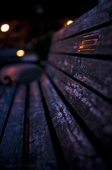 Park Bench; Newburyport, MA