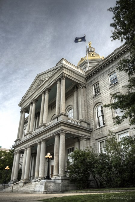 NH State House and Visitor Center; Concord, NH
