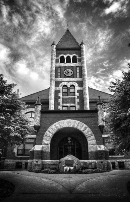 Thompson Hall Clock Tower, HDR; University of New Hampshire, Durham, NH
