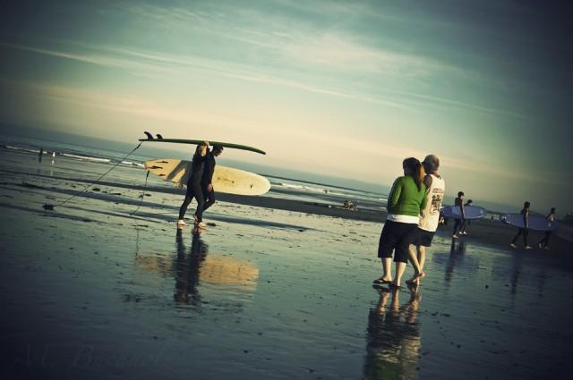 Surfer Beach; Rye, NH