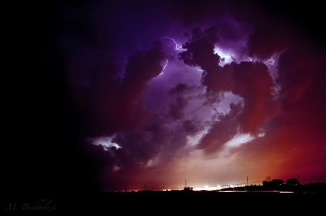 Nebraska Lightning Storm
