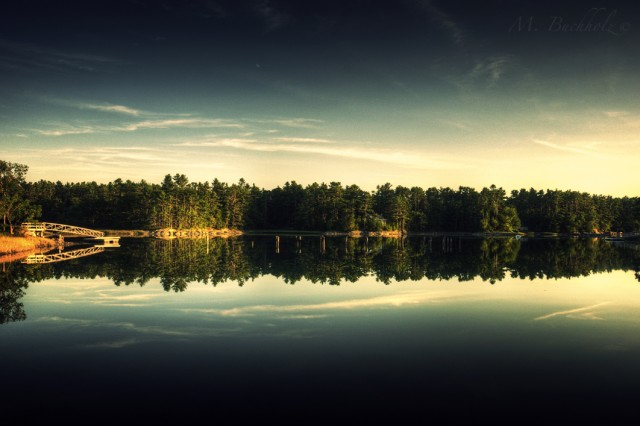 Lake Reflections; Kittery, Maine
