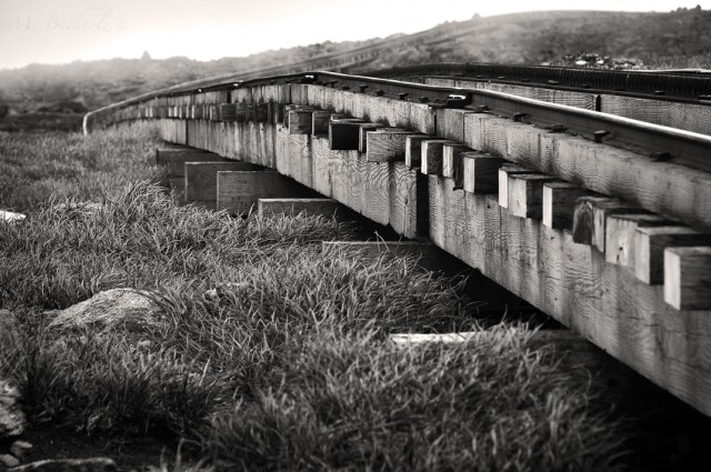 Cog Railway up Mt. Washington
