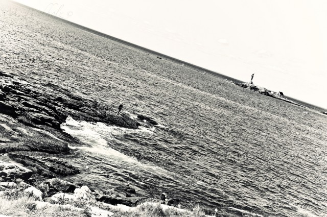 Fishing by White Island Light