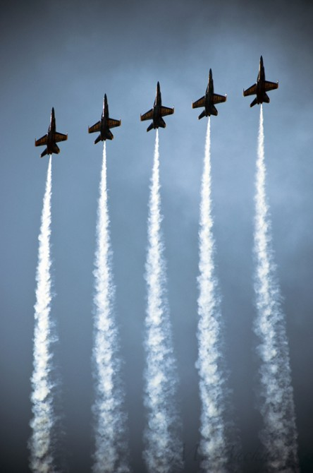 Blue Angels at the Portsmouth Airshow