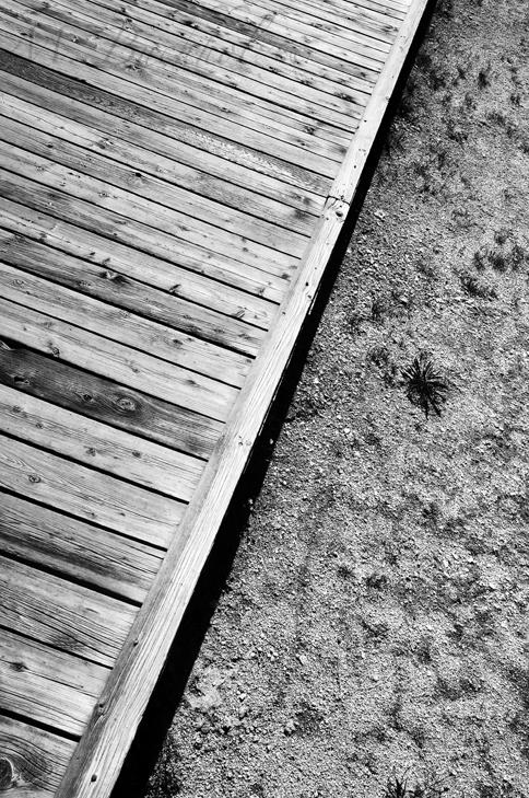 Walkway in Wyoming