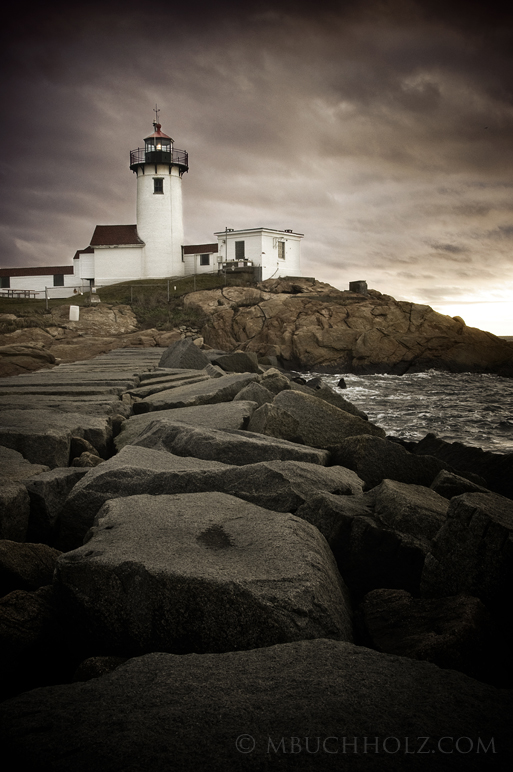Sunrise, Eastern Point Lighthouse; Gloucester, MA