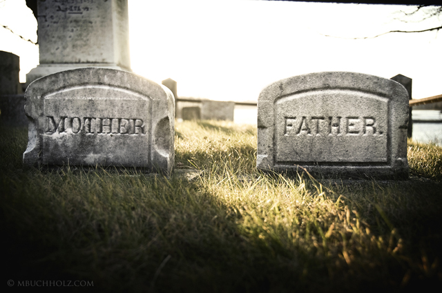 Mother/Father; Riverside Cemetery, New Castle, NH