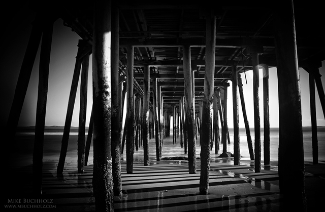 Under The Pier; Old Orchard Beach, Maine