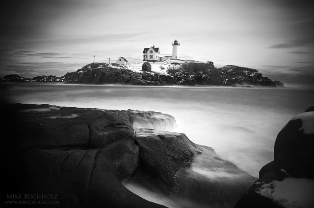 Nubble Point Light; York, Maine